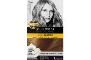 John Frieda Sheer Blonde Precision Foam Colour Dark Caramel Blonde
