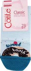 Носки женские Conte Classic №7С-22СП 23 светло-голубой