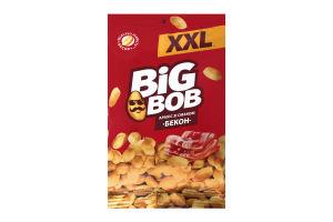 Арахіс зі смаком бекону смажений солоний XXL Big Bob м/у 170г