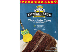 Immaculate Honestly Delicious Chocolate Cake Scratch Mix