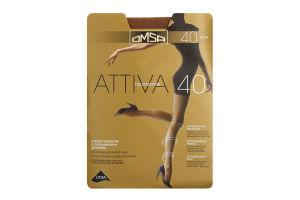 Колготки Omsa Attiva 40 сappuccino р.2