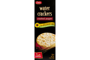 Dare Water Crackers Cracked Pepper