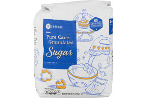 SE Grocers Sugar Pure Can Granulated