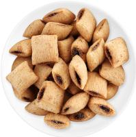 Подушечки круп'яні неглазуровані з начинкою з какао Смачна забава Золоте зерно кг