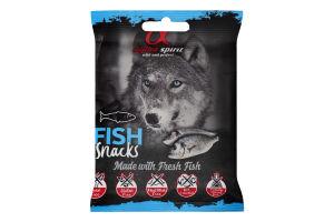 Ласощі для собак напіввологі з рибою Alpha Spirit м/у 50г