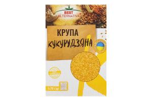 Крупа кукурудзяна в пакетиках Best Alternativa к/у 4х70г