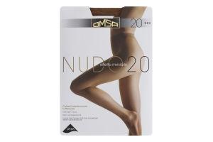 Колготки жіночі Omsa Nudo №219OM 20den XL cappuccino