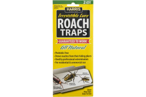 Harris Irresistible Lure Roach Traps