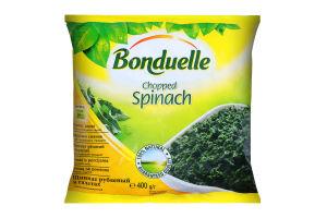 Шпинат заморожений різаний у порціях Bonduelle м/у 400г