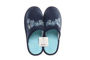 Тапочки комнатные женские SKY №124038 40-41 темно-синие