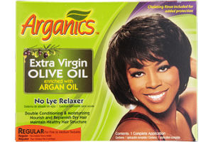 Arganics No Lye Relaxer Regular