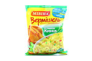Вермишель со вкусом курицы Мивина 60г
