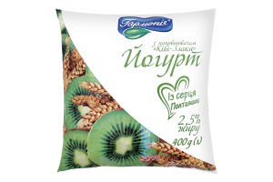 Йогурт 2.5% Киви-Злаки Гармонія м/у 400 г