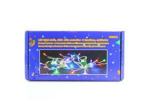 Електрогірлянда світодіодна 8 функцій внутрішня різнокольорова 5м 100ламп