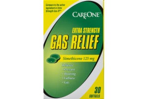 CareOne Extra Strength Gas Relief Softgels - 30 CT