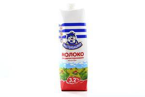 Молоко 3.2% ультрапастеризованное Простоквашино т/п 1000г