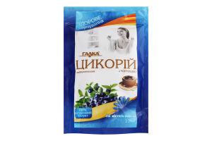 Напій розчинний Цикорій з чорницею Галка д/п 100г