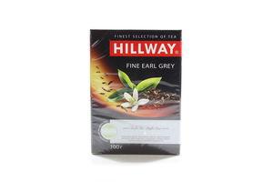Чай черный листовой с ароматом бергамота Earl Grey Hillway к/у 100г