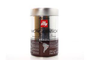 Кава Illy Brazil Monoarabica в зернах з/б 250г х12