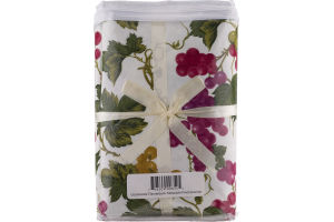 Royal Crest Colortrends PEVA Flannelback Tablecloth 52x70