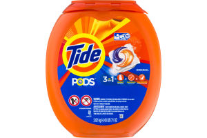 Tide Pods 3-IN-1 Detergent Original - 81 CT