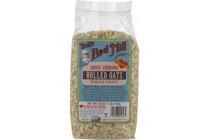 Bob's Red Mill Rolled Oats Whole Grain