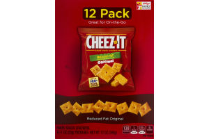 Cheez-It Reduced Fat Baked Snack Crackers Original - 12 PK