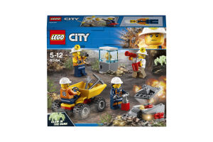 LEGO® City Бригада шахтеров 60184