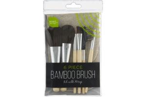 Smart Sense Bamboo Brush Kit - 6 CT