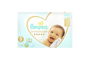Підгузники 11-16кг 5 Premium Care Pampers 88шт