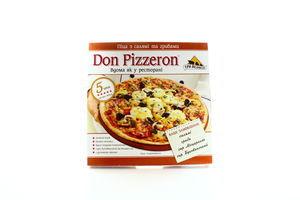 Пицца с салями и грибами Don Pizzeron с/м 350г