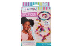 Набір іграшковий для дітей від 8років для створення прикрас №MR1204 Кольорова мрія Make it Real 1шт