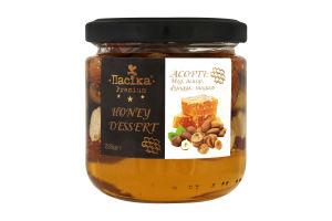 Мед инжир фундук миндаль Honey dessert Premium Пасіка с/б 230г