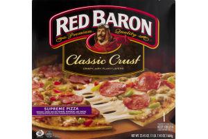 Red Baron Classic Crust Pizza Supreme