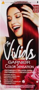 Крем-фарба для волосся Вогняний бургунди The Vivids Color Sensation Garnier