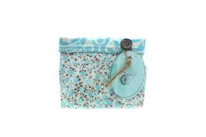 Прованс-Класік короб текстильний малий Квіти-Тіфані 12*15*15см