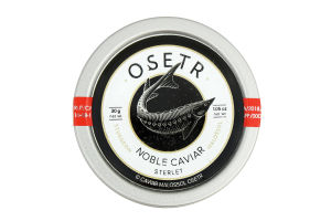 Ікра осетрова зерниста Noble Caviar Osetr з/б 30г