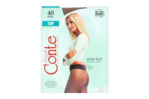 Колготи жіночі Conte Top 40den 4-L bronz