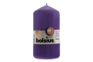 Свеча Bolsius цилиндр ультрафиолет 130/68мм