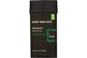 Every Man Jack Deodorant Eucalyptus Mint