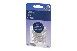 Helping Hand Push Pins - 40 CT