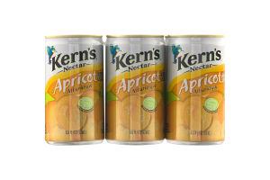 Kern's Nectar Apricot - 6 PK