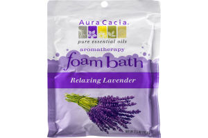 Aura Cacia Foam Bath Relaxing Lavender