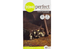 ZonePerfect Nutrition Bars Double Dark Chocolate - 12 CT