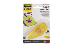 Scotch Create Double Sided Tape Runner Permanent