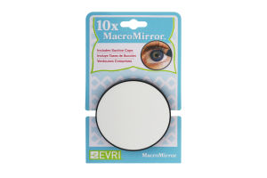 MacroMirror 10x Suction Cup Mirror