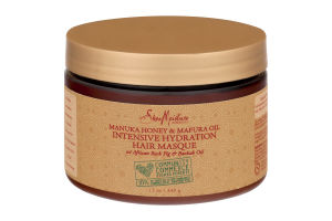 Shea Moisture Intensive Hydration Hair Masque Manuka Honey & Mafura Oil