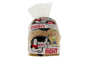 Dave's Killer Bread Organic White Bread Done Right