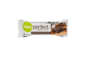 Zone Perfect Nutrition Bar Dark Chocolate Caramel Pecan