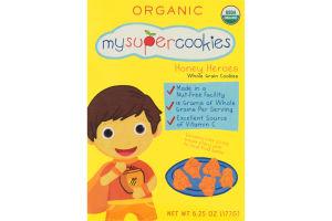 MySuperCookies Honey Heroes Organic Whole Grain Cookies